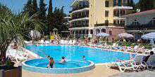 Web-Kamera Swimmingpool des Hotels Demerji