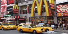 McDonalds auf Taymc Platz New York