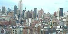 New York City aus der Höhe New York