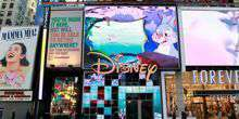 WebKamera New York - Disney Store in Times Square