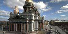 WebKamera St. Petersburg - St. Isaak-Kathedrale